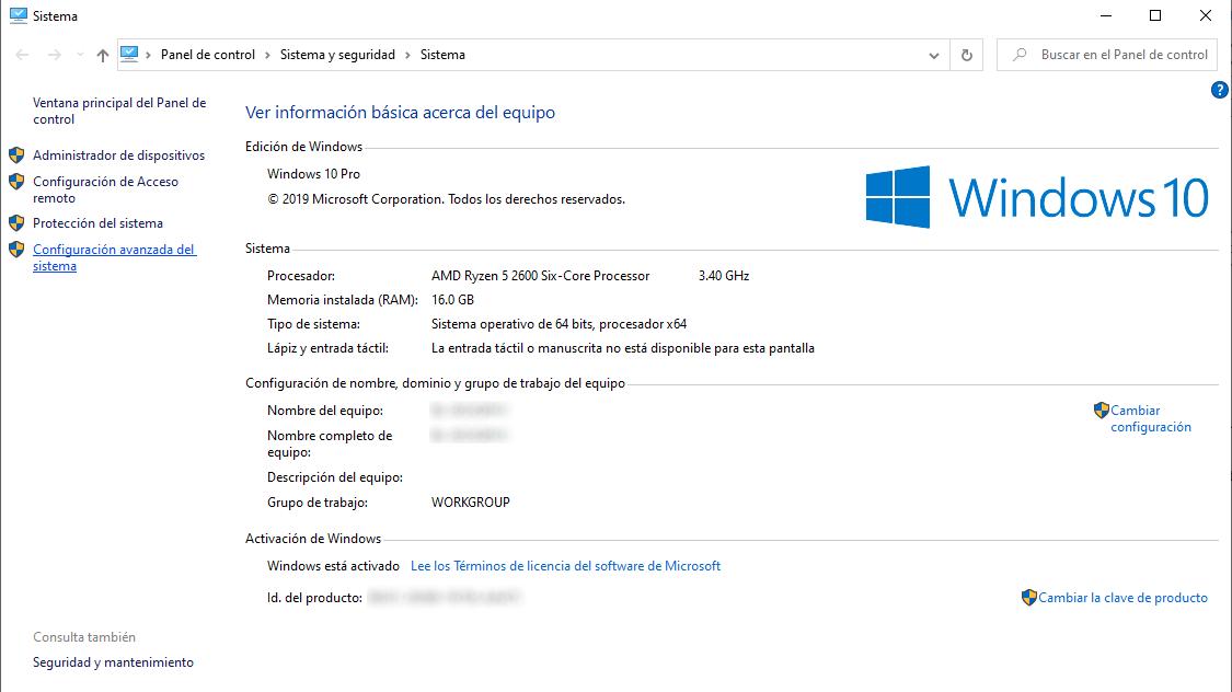 Sistema Windows